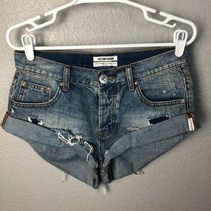 One teaspoon bandits jean shorts